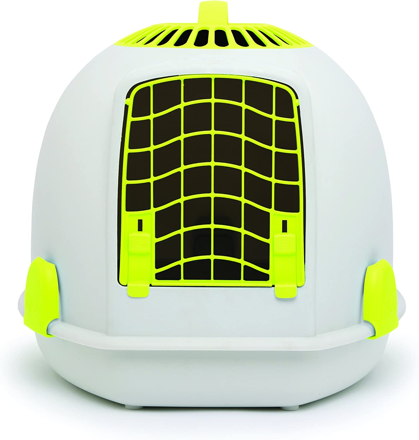 8f31773e2e6be In 1 Cat Loo & Carrier Sunrise Yellow Igloo 2 nuwzkp6193-New pet ...