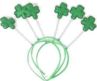 20 Bulk Fighting Irish Shamrock St Patrick`s Day Head Bopper Party Hats Green