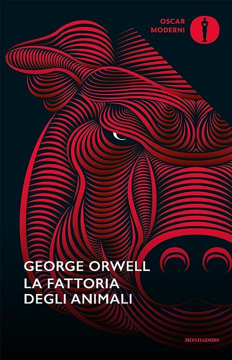 George Orwell - La fattoria degli animali (italiano) copertina flessibile mondadori 978-8804667926