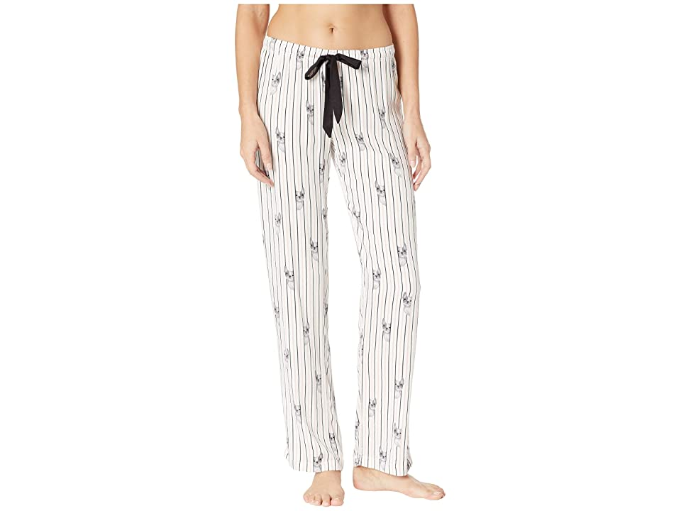 P.J. Salvage Luxe Affair PJ Pants (Ivory) Women