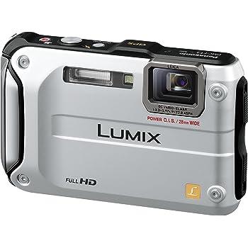 パナソニック デジタルカメラ LUMIX FT3 プレシャスシルバー DMC-FT3-S