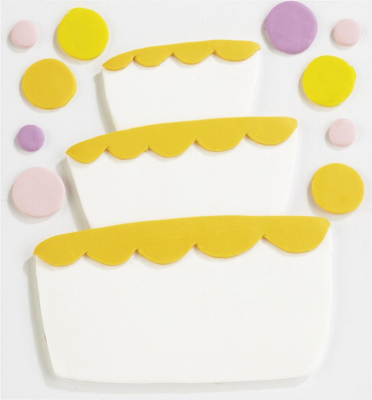 Jolee's Confections Stickers-Fondant Tier Cake B0077HHKHU | | | Ein Gleichgewicht zwischen Zähigkeit und Härte  d70f54
