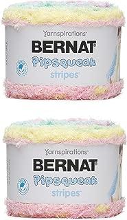 Bernat Pipsqueak Stripes Yarn, 9.8 Oz, Lullaby 2-Pack