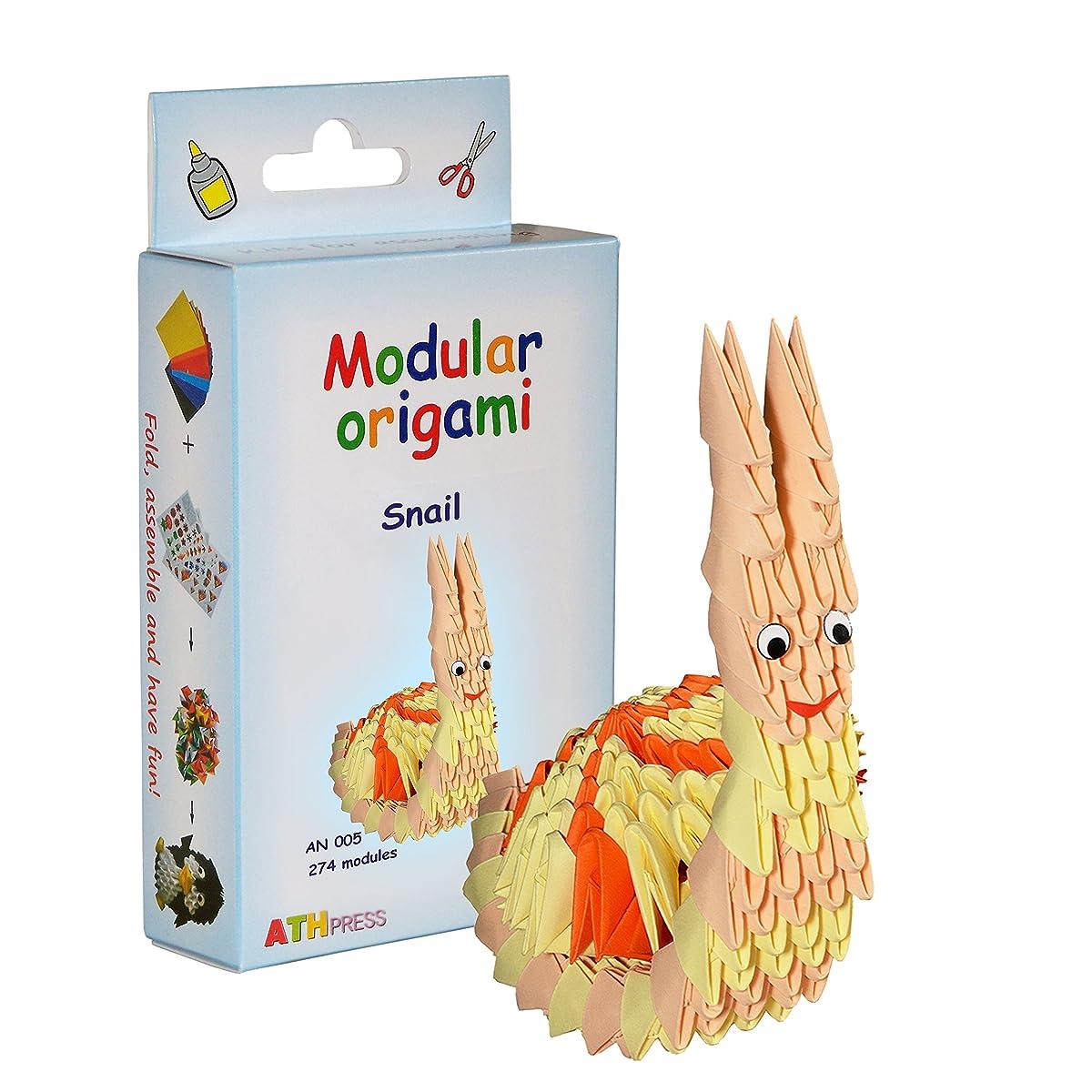 ATH Press Ltd. Modular Origami Kit-Snail