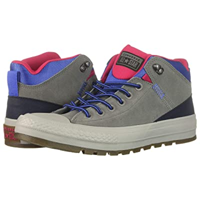 Converse Chuck Taylor All Star Street Boot Hi (Mason/Obsidian/Pink Pop) Men