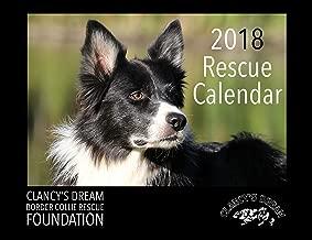 Border Collie Rescue 2018 Calendar - Dog Breed Calendar - Premium Wall Calendar