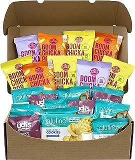 Premium Gluten-Free Snack Gift Box With Popcorn, Puffs, Pretzels, Cookies & Mug Cakes, 2.25 lbs.