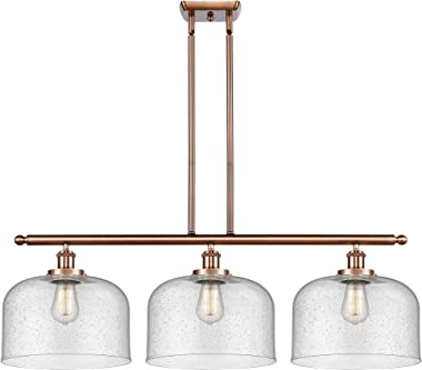 INNOVATIONS LIGHTING 916-3I-AC-G74-L-LED X-Large Bell 3 Light Island Light Part of The Ballston Collection