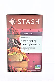 STASH TEA Cranberry Pomegranate Tea, 18 CT