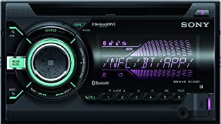 Sony WX900BT 2-DIN CD Receiver with Bluetooth (Black) Discontinued by Manufacturer