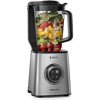 Philips Avance HR3752/00 - Batidora de Vaso, 1400 W, 35 000 RPM, Jarra 1.8 L, Tritan Tecnología de Alta Velocidad con Función de Vacio, Acero Inox: Amazon.es: Hogar