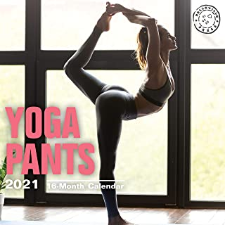 Bright Day Calendars 2021 Yoga Pants Wall Calendar by Bright Day, 12 x 12 Inch, Hot Sexy Pinup Lingerie Booty Babes Girls