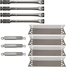 Hisencn Gas Grill Repair KIT Burners, Heat Plate Shield Replacement for Kenmore 122.16134, 122.16134110, Nexgrill 720-0719BL, 720-0773, 720-0783, Tera Gear1010007A