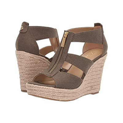 MICHAEL Michael Kors Damita Wedge (Olive) Women