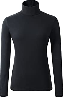 turtleneck thermal tops