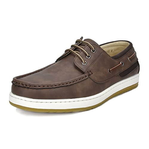 e93e62191bd Bruno Marc Men s Pitts Loafers Moccasins Boat Shoes