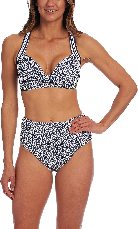 La Blanca Women's Keyhole Banded Bra Bikini Swimsuit Top
