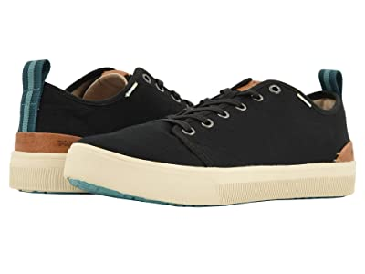 TOMS TRVL LITE Low (Black Canvas) Men
