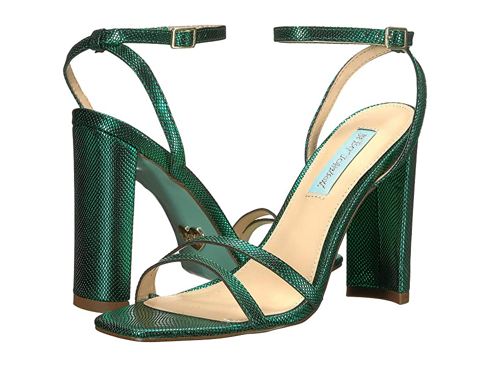 Blue by Betsey Johnson Mady (Emerald) High Heels