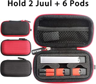 Hardshell Carrying case for JUUL Pods, Juul Accessories, Travel case Holder(1 Case Only, No Device)