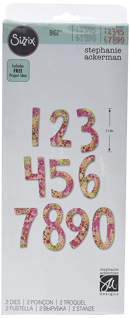 Sizzix 661653 Bigz Alphabet Set, Multicolor