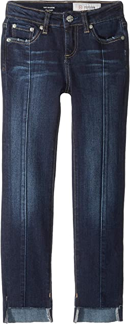 Slim Straight Hi-Lo Hem Jeans in Buffalo (Big Kids)