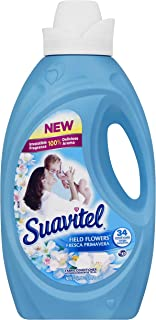 Suavitel Liquid Fabric Softener, Field Flowers, 50 Ounce, Blue