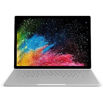 Microsoft Surface Book 2 - Ordenador portátil convertible táctil 13.5'' (Intel Core i7-8650U, 16GB RAM, 512GB SSD, Nvidia GeForce GTX1050-2GB, Windows 10 Pro) Plata - Teclado QWERTY Español