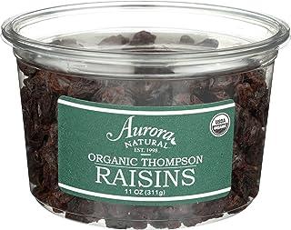 Aurora Products Organic Thompson Raisins, 11 Ounce