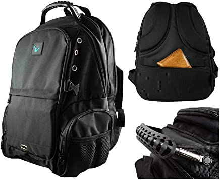 ... Duty Tech & Gaming Design | TSA Friendly Secure w/Anti Theft Travel Pouch |19 & 17 Inch Laptop Bag w/USB & Aux Port | Mens, Women, School, Mochilas
