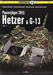 Panzerjäger 38 (t): Hetzer & G13 (Photosniper 3D)