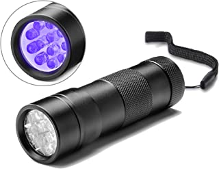 Linterna Frontal LED USB Recargable Modelos De Explosi/ón 19LED Faros Captura P/úrpura Escorpi/ón Ultravioleta UV Luz Negro Llevado Faros Faros