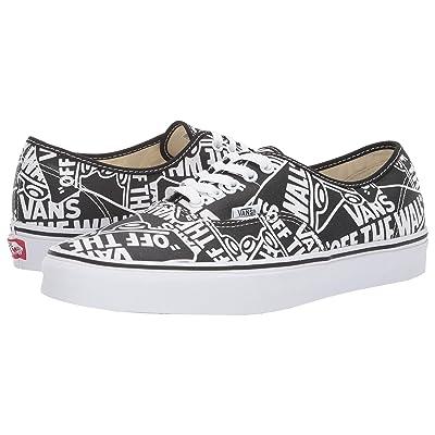 Vans Authentictm ((OTW Repeat) Black/True White) Skate Shoes