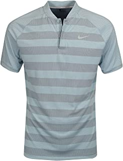 Mens Striped Golf Basic T-Shirt
