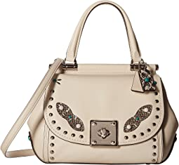 COACH - Western Rivets Drifter Top-Handle