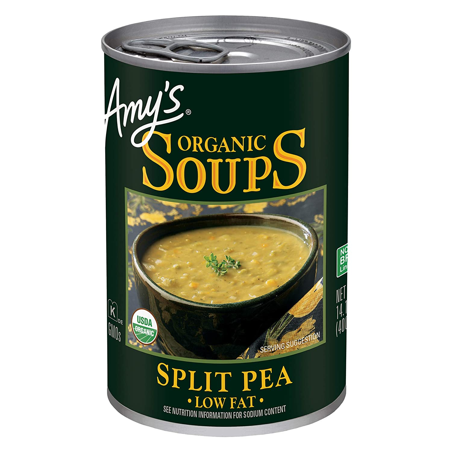 Ranking TOP16 Amy's Soup All stores are sold Vegan Gluten Free Organic Fat Pea Low Split 14.1