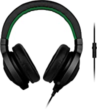 Razer Kraken Pro - Noise Isolating Analog Black Gaming Headset with Retractable Mic - Compatible with PC, Xbox One & Playstation 4