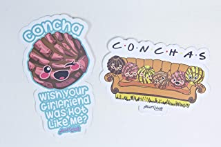 Hand Drawn Stickers Funny Cool Decals Bike For Kids and