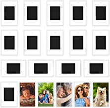 Kurtzy Blank Photo Frame Insert Fridge Magnets (20 Pack) - For Photos 7 x 4.5cm (2.75 x 1.77 inches) - Translucent Clear A...