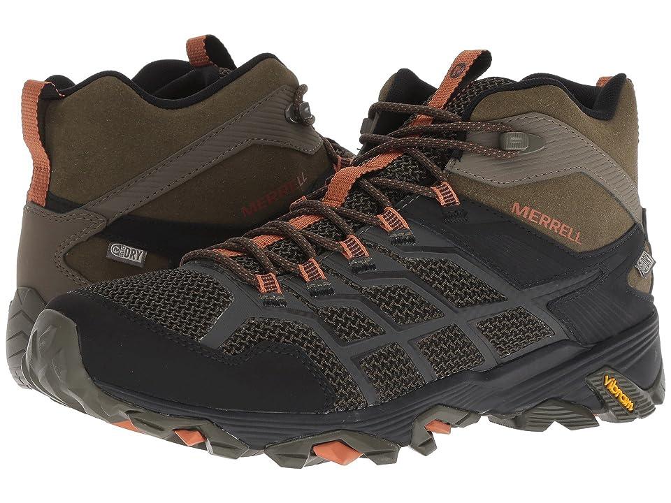 Merrell Moab FST 2 Mid Waterproof (Olive/Adobe) Men