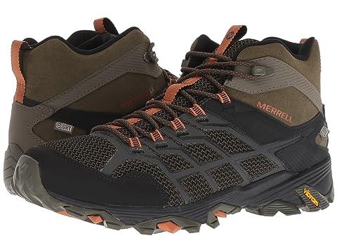 Merrell Mid FST 2 Black Moab GraniteOlive Waterproof Adobe rqtF7rnaw