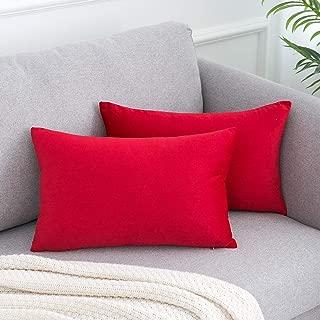 Best red silk throw pillows Reviews