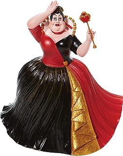 Enesco Disney Showcase Couture de Force Alicia en el país de Las Maravillas - Figura de Reina de Corazones, Multicolor