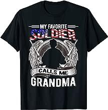 Proud Army Grandma Shirt - Favorite Soldier Calls Me Grandma