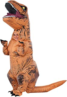 Rubie's Jurassic World T-Rex Inflatable Costume, Child, One Size Brown