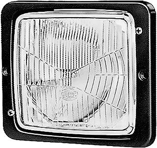 HELLA 004109041 138 x 124mm Series H4 Type Single Flushmount Headlamp with Position Lamp