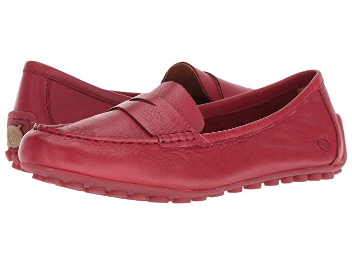 Born  Malena (Red (Scarlet)) Womens Flat Shoes