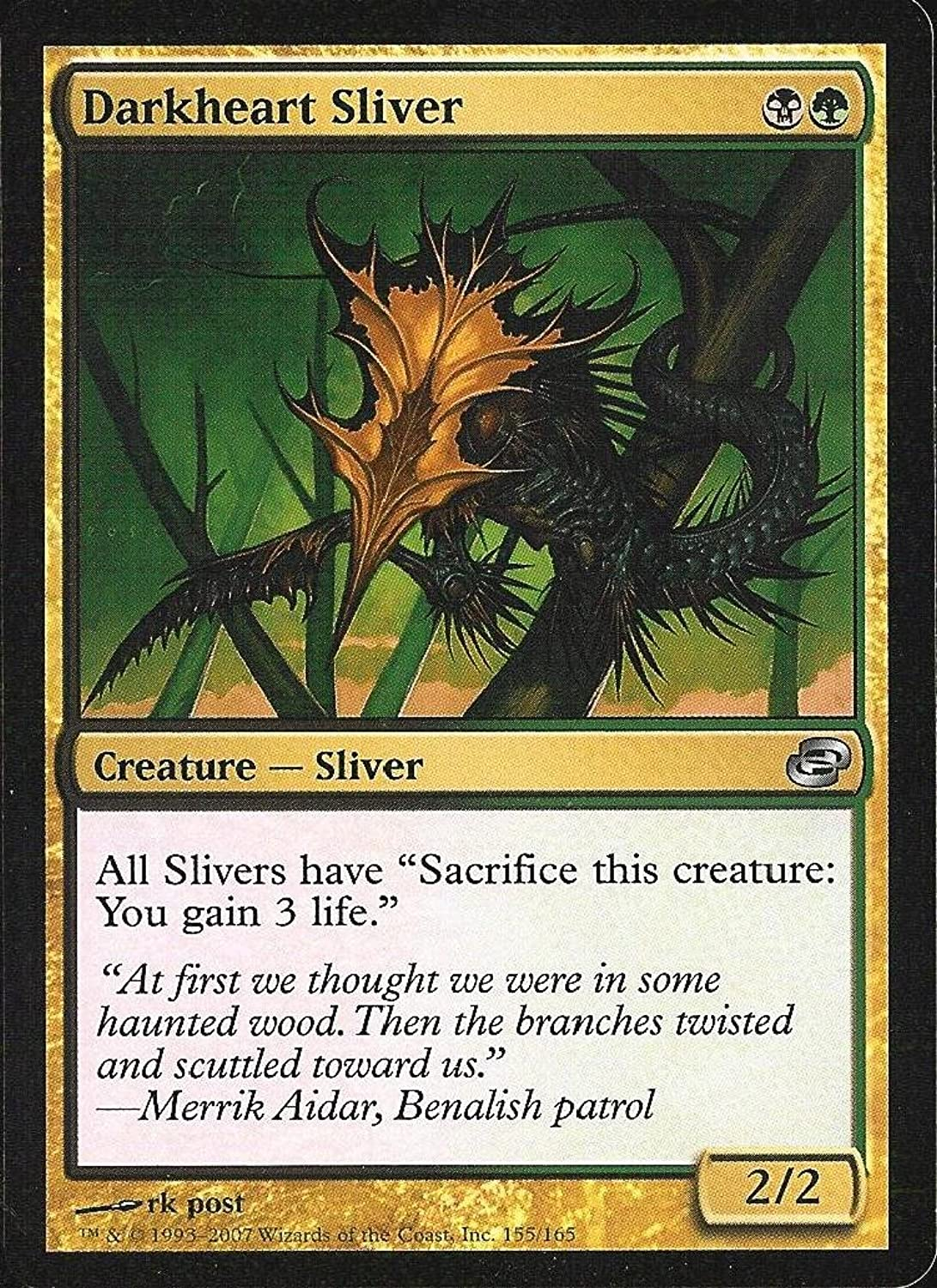 Magic  the Gathering - Darkheart Sliver - Planar Chaos - Foil by Magic  the Gathering
