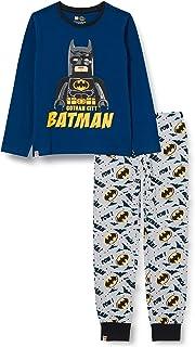 LEGO MW-Schlafanzug Batman Juego de Pijama para Niños