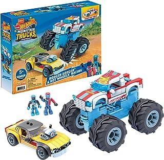 Mega Construx Hot Wheels Rodger Dodger & Hot Wheels Racing Construction Set, Building Toys for Kids GYG22